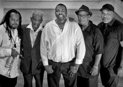 Legendary Ils Sont Partis featuring Buckwheat Zydeco Jr.